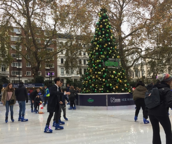 The Ice Rink at the Natural History Museum